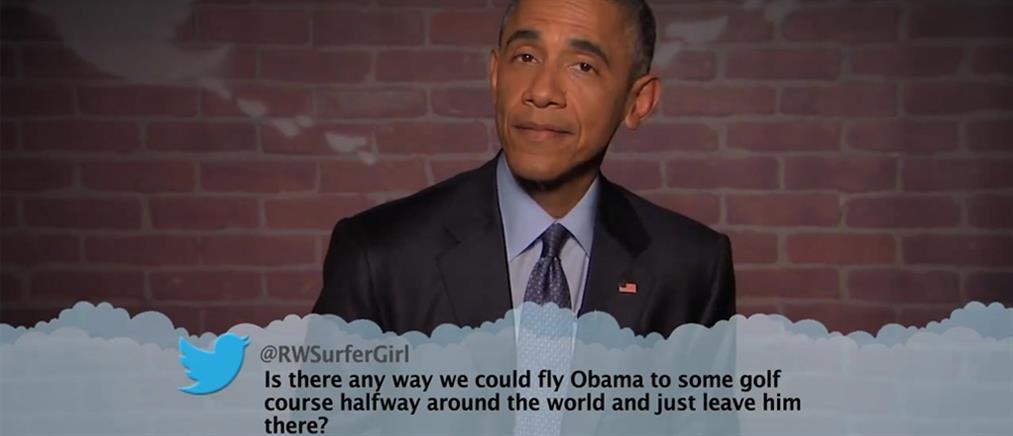 Ο Ομπάμα ομολογεί την κακή σχέση που έχει με τα smart phones