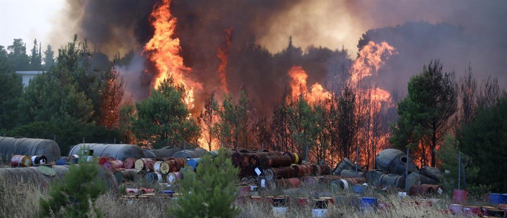Φωτιά- Ολυμπιακό Χωριό: Μήνυμα από το 112 για εκκένωση