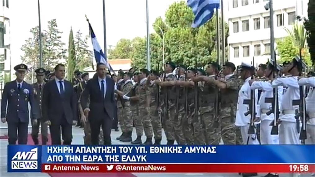 """""""Παραλήρημα"""" με απειλές του Τούρκου Αντιπροέδρου"""