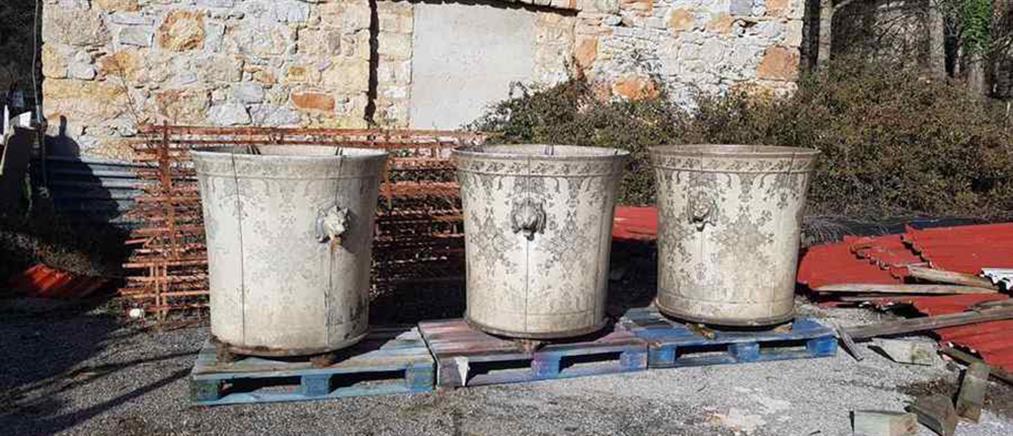 """Τατόι: Εντοπίστηκε το """"χαμένο"""" κασπώ των ανακτορικών κήπων (εικόνες)"""