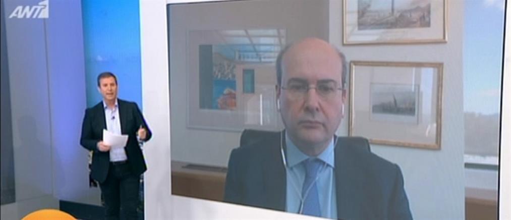 Χατζηδάκης στον ΑΝΤ1 για κορονοϊό: διαρκής η παροχή των δικτύων Ενέργειας (βίντεο)