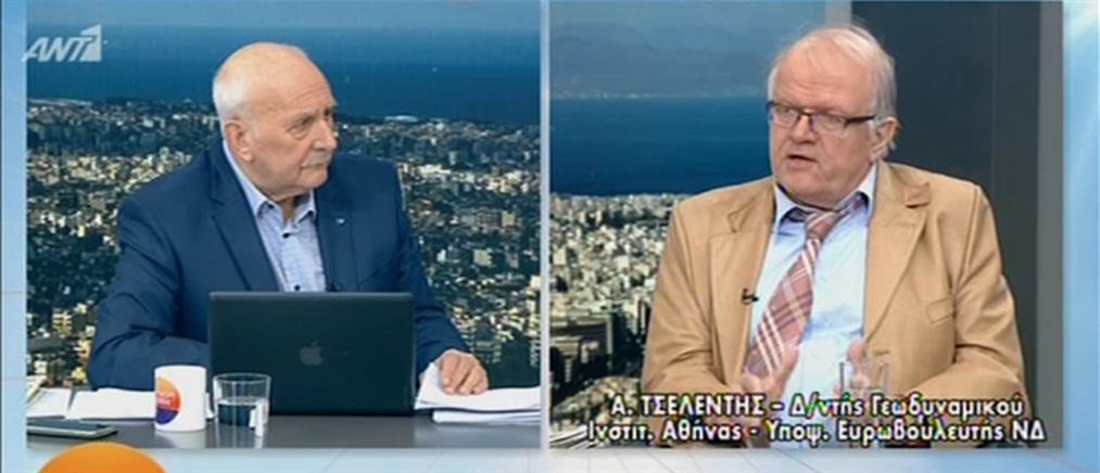 Ο Άκης Τσελέντης στον ΑΝΤ1 (βίντεο)
