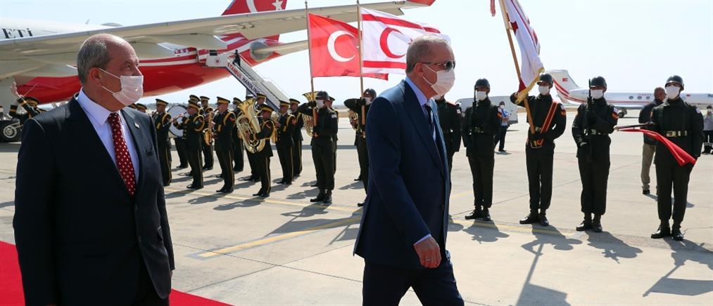 Ερντογάν από Κατεχόμενα: Δεν θα χάσουμε άλλα 50 χρόνια με το Κυπριακό