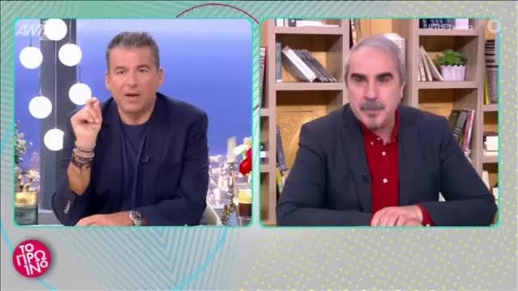 Ο Αργύρης Παπαργυρόπουλος  στο Πρωινό