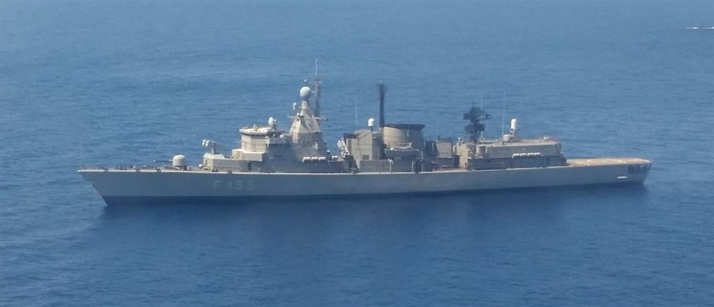 Πολεμικό Ναυτικό: Ελληνοαμερικανική συνεκπαίδευση νότια της Κρήτης (εικόνες)