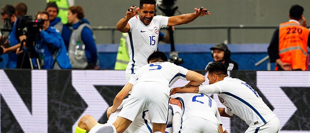 """Κύπελλο Συνομοσπονδιών: στον τελικό με άμυνα """"μπετόν"""" η Χιλή"""
