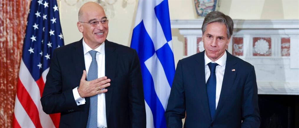 """Δένδιας για Αμυντική Συμφωνία με ΗΠΑ: """"Ασπίδα προστασίας"""" της Ελλάδας"""