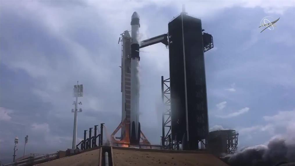 Η εκτόξευση του SpaceX