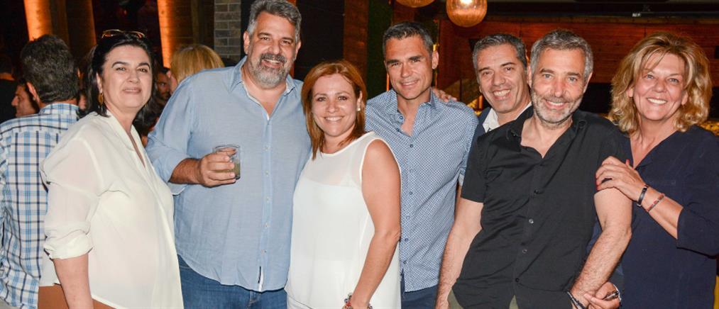 Λαμπερό πάρτι για τους συντελεστές των σειρών μυθοπλασίας του ΑΝΤ1 (εικόνες)
