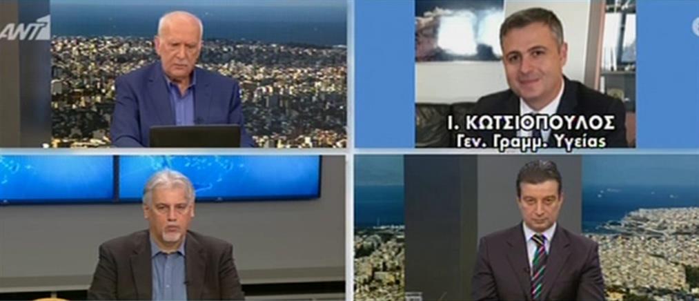 Κωτσιόπουλος για επίταξη ιατρών: ποιοι είναι οι πρώτοι 206 και πως θα αμείβονται