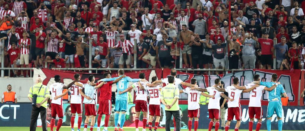 """Κατάταξη UEFA: Ο Ολυμπιακός δίνει """"φτερά"""" στην Ελλάδα"""