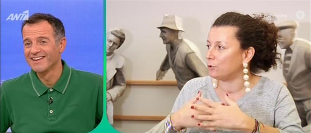 """Η Κατερίνα Βρανά στο """"Πρωινό"""" για τους άνδρες και τις παραστάσεις της (βίντεο)"""