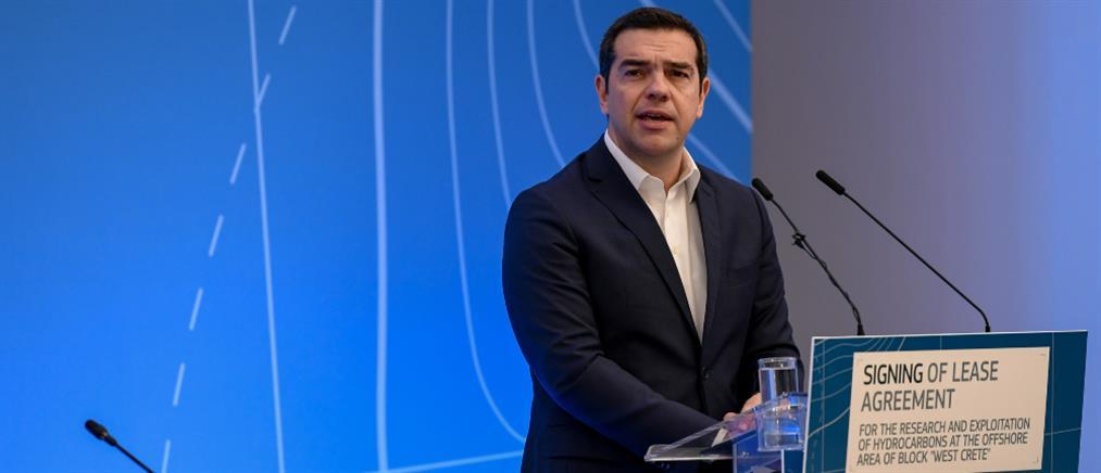 Τσίπρας: στόχος η μετατροπή της Ελλάδας σε χώρα παραγωγό ενέργειας
