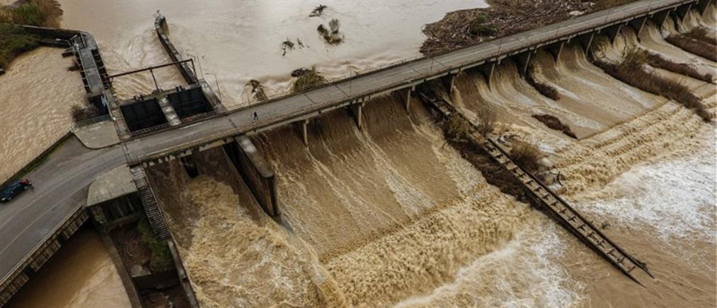 Πλημμύρισε ο Αλφειός – Ανησυχούν οι κάτοικοι (βίντεο)
