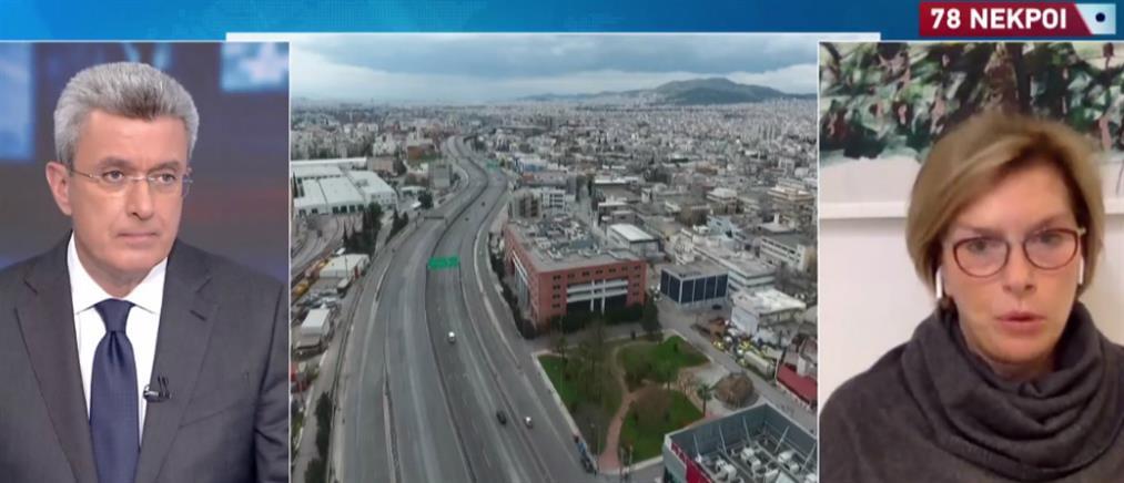 Κορονοϊός: Η Μίνα Γκάγκα στον ΑΝΤ1 για το ρεβεγιόν και το εμβόλιο (βίντεο)