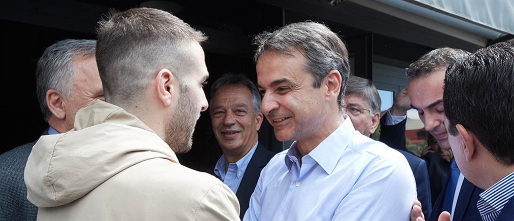 Μητσοτάκης: Η συνάντηση με Φορτούνη και η επίσκεψη σε εκλογικό περίπτερο του ΣΥΡΙΖΑ