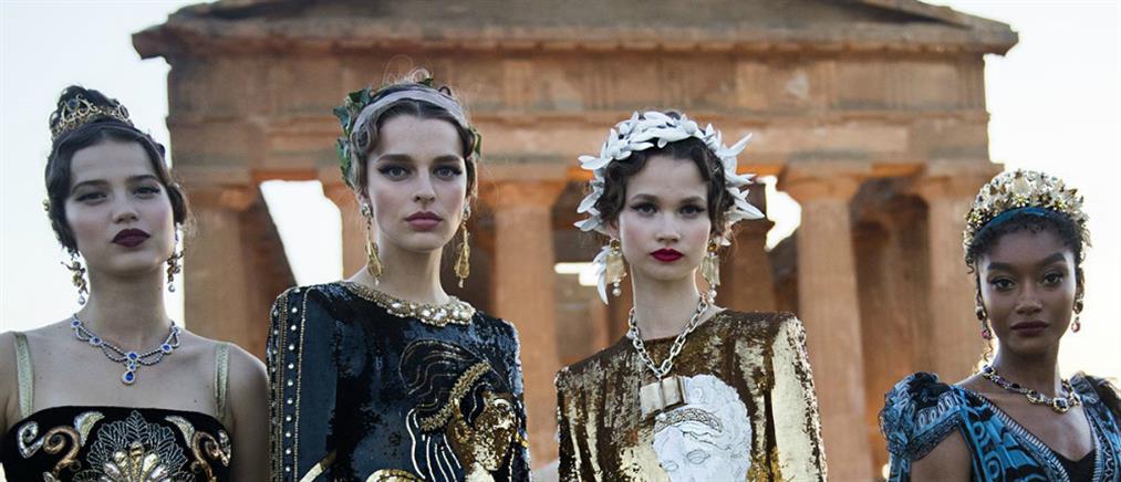 """Dolce & Gabanna: επίδειξη μόδας με """"άρωμα"""" αρχαίας Ελλάδας (βίντεο)"""