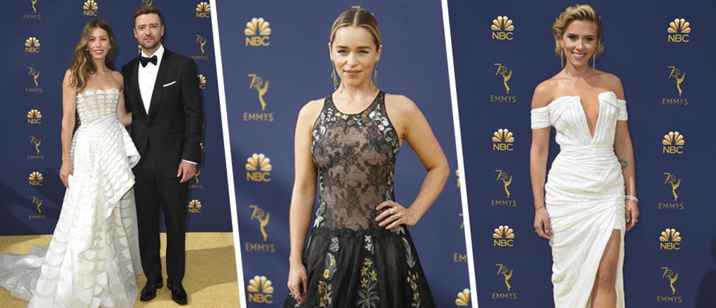Emmy: Λάμψη και πολυτέλεια στο κόκκινο χαλί (εικόνες)