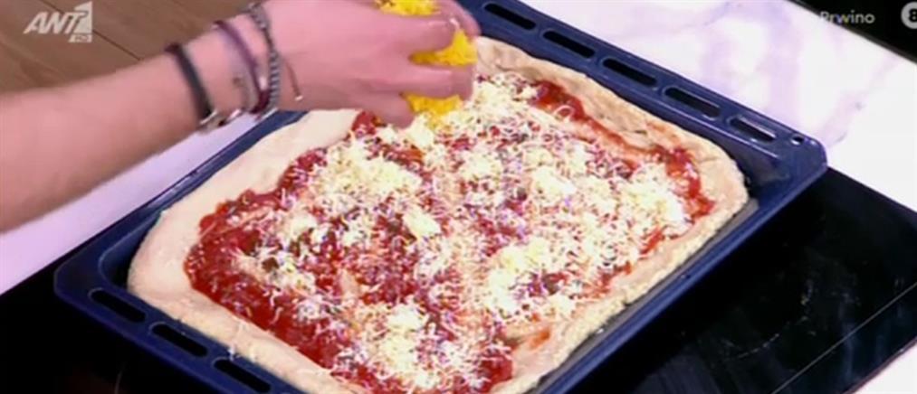 Πίτσα από τον Πέτρο Συρίγο