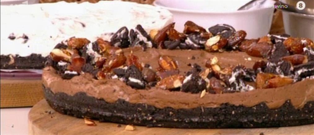 Τσιζκέικ με μπισκότο από τον Βασίλη Καλλίδη