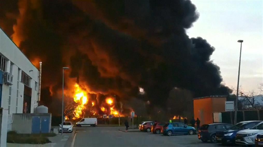 Έκρηξη σε εργοστάσιο στην Ισπανία