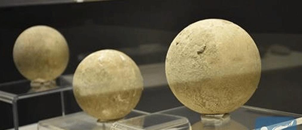 Απολιθώματα αυγών στρουθοκαμήλου ηλικίας 150 αιώνων εκτίθενται σε μουσείο