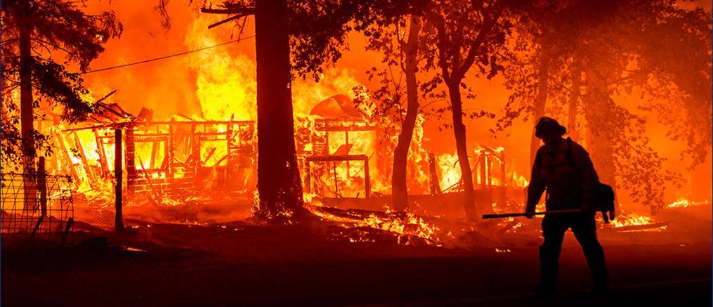 Καλιφόρνια – Ντίξι: εικόνες βιβλικής καταστροφής (εικόνες)