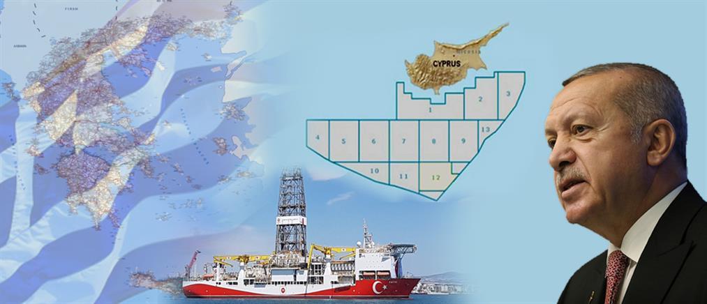 Επιμένει ο Ερντογάν: θα κάνουμε γεωτρήσεις στην Μεσόγειο