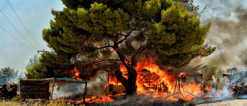 Μεγάλη φωτιά στην Ικαρία