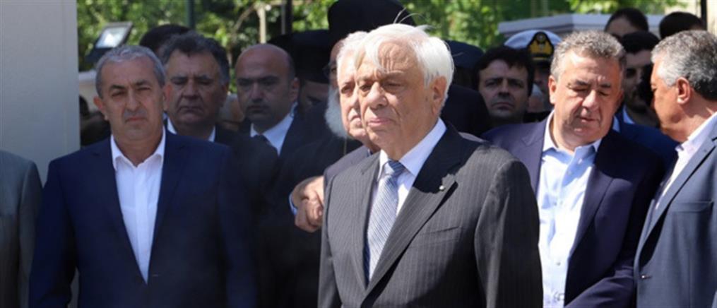 Παυλόπουλος: ενεργή η στήριξη των συμμάχων μας έναντι των προκλήσεων της Τουρκίας