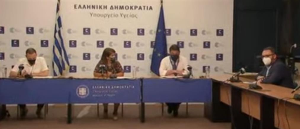 Κορονοϊός: Παπαευαγγέλου - Χαρδαλιάς για τα νέα μέτρα και την μετάλλαξη Δέλτα (βίντεο)