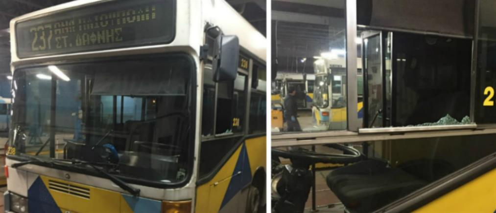 Πυροβόλησαν λεωφορείο του ΟΑΣΑ στην Ηλιούπολη