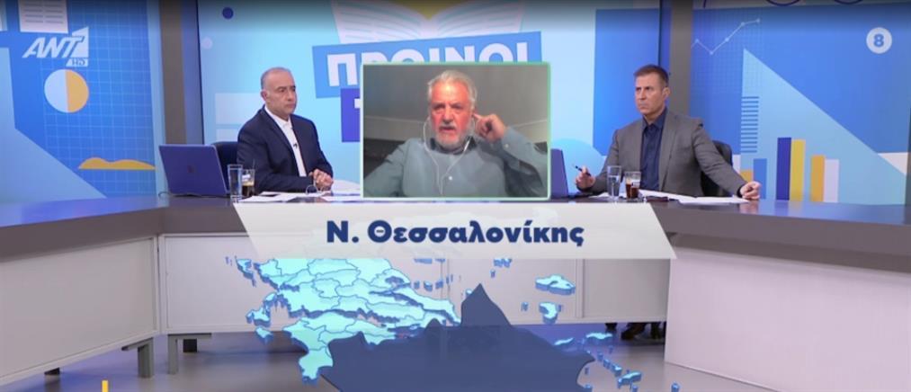 Κορονοϊός - Καπραβέλος στον ΑΝΤ1: Ξεκινάμε την εφημερία με μηδέν κλίνες