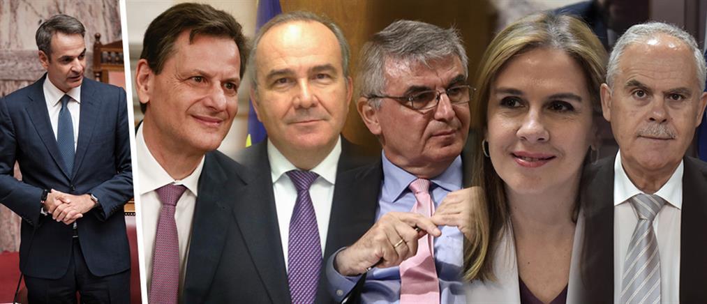 Ορκίζονται τα νέα μέλη της Κυβέρνησης