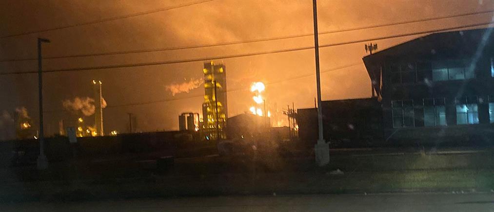 Έκρηξη σε χημικό εργοστάσιο (βίντεο)