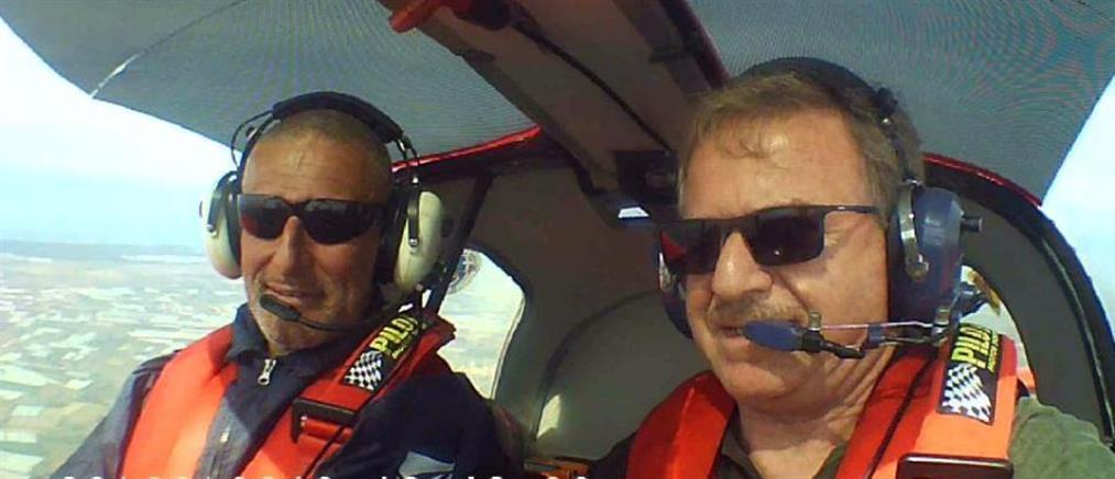 Πύργος: 20 μέτρα από το πατρικό του πιλότου έπεσε το αεροπλάνο (εικόνες)
