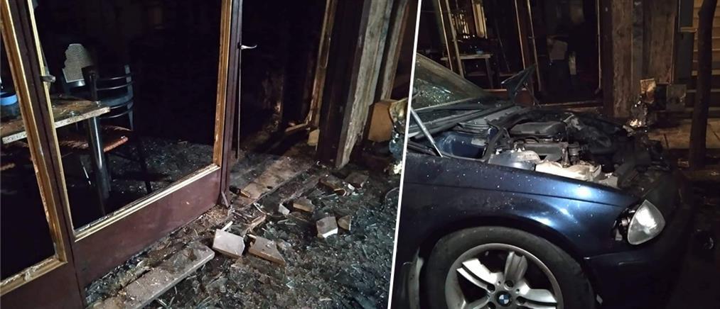Καισαριανή: έκρηξη και φωτιά σε κυνηγετικό σύλλογο (βίντεο)