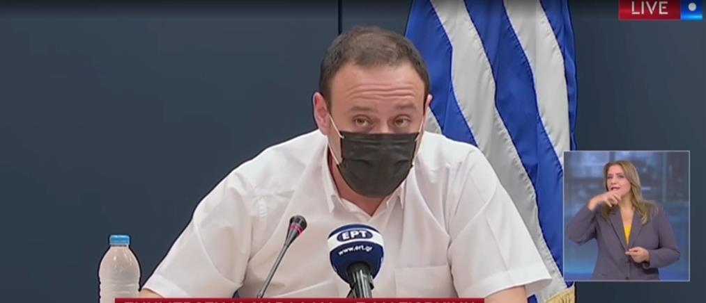 Κορονοϊός: η ενημέρωση για την πορεία της πανδημίας