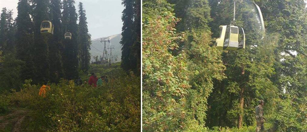 Νεκροί σε χιονοδρομικό κέντρο από ...πτώση δέντρου σε τελεφερίκ! (φωτο)