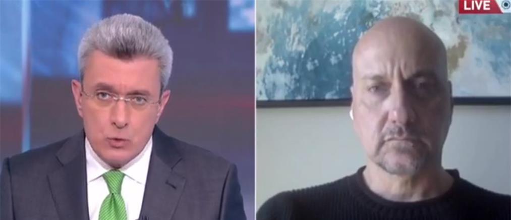 Κορονοϊός - Ζαούτης στον ΑΝΤ1: Σωστή η πρόταση για διπλή μάσκα (βίντεο)