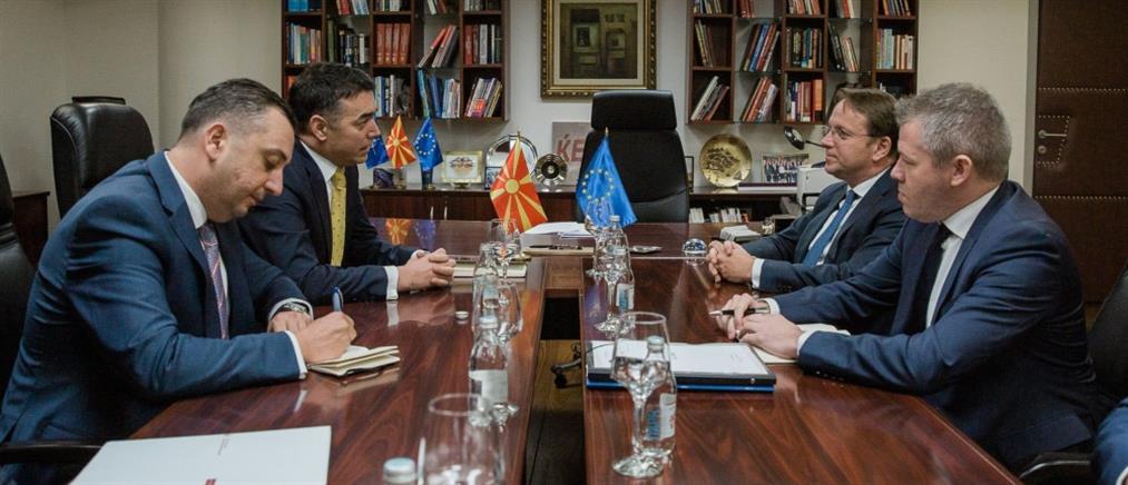 """Βόρεια Μακεδονία: """"Βιάζονται"""" οι Βρυξέλλες για ένταξη στην ΕΕ"""