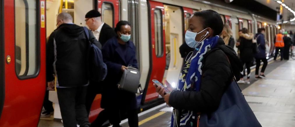 """Κορονοϊός – Βρετανία: η πανδημία συνεχίζει την """"προέλαση"""" της"""