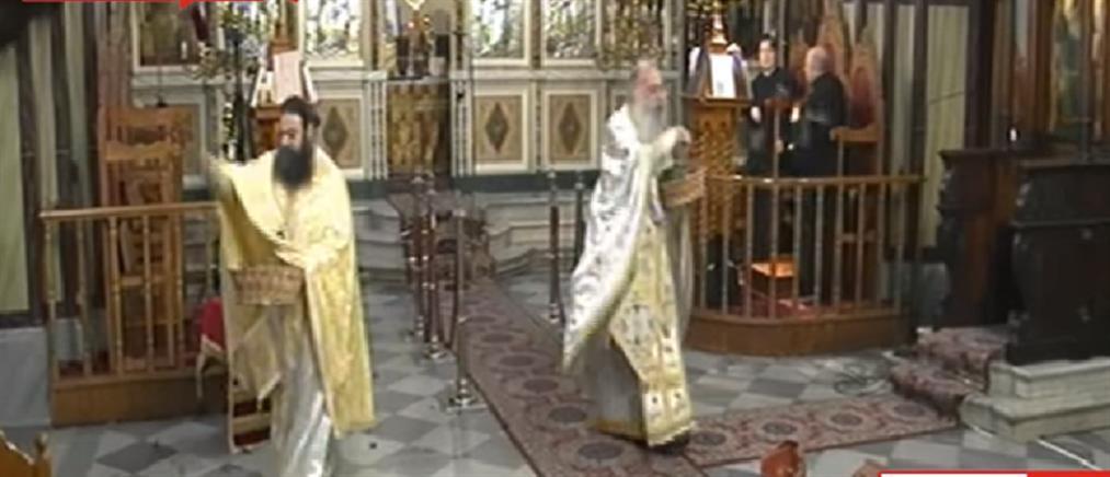 """""""Εκρηκτική"""" η πρώτη Ανάσταση στο Μεσολόγγι (βίντεο)"""