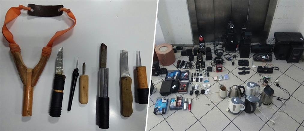 Ναρκωτικά, σουβλιά και... ζώνη αδυνατίσματος στις φυλακές Δομοκού (εικόνες)