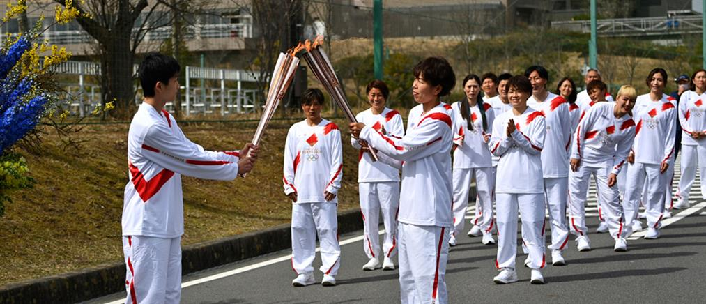 Ολυμπιακοί Αγώνες – Τόκιο: ξεκίνησε η Ολυμπιακή Λαμπαδηδρομία