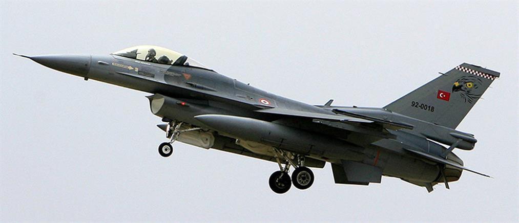 Υπερπτήσεις τουρκικών F-16 στον Έβρο