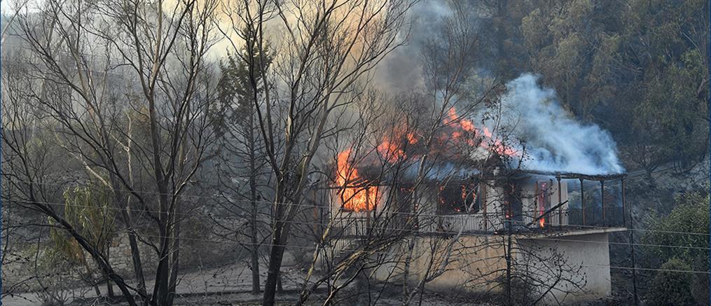 Φωτιά στη Μεσσηνία: Εκκενώνονται χωριά
