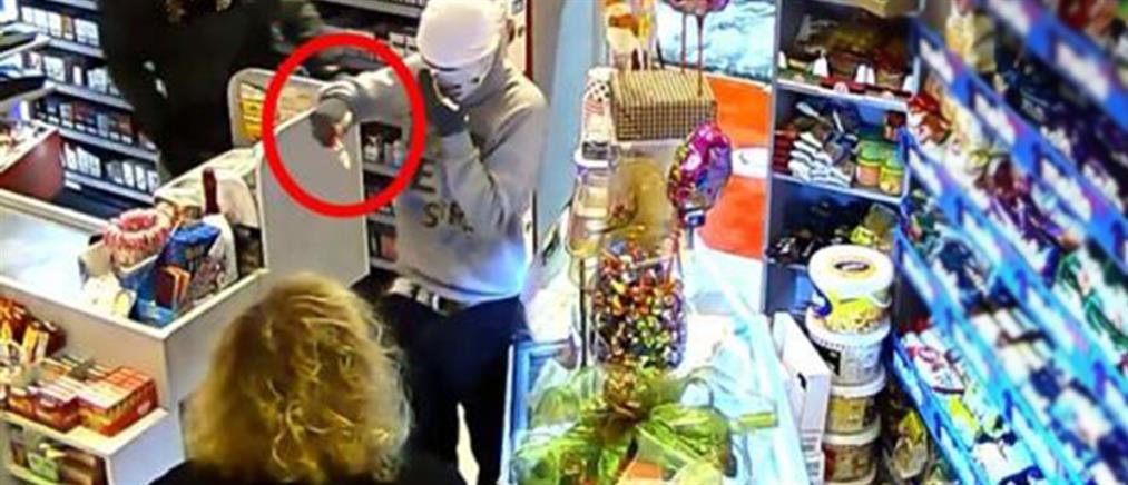 Ένοπλη ληστεία σε σούπερ μάρκετ