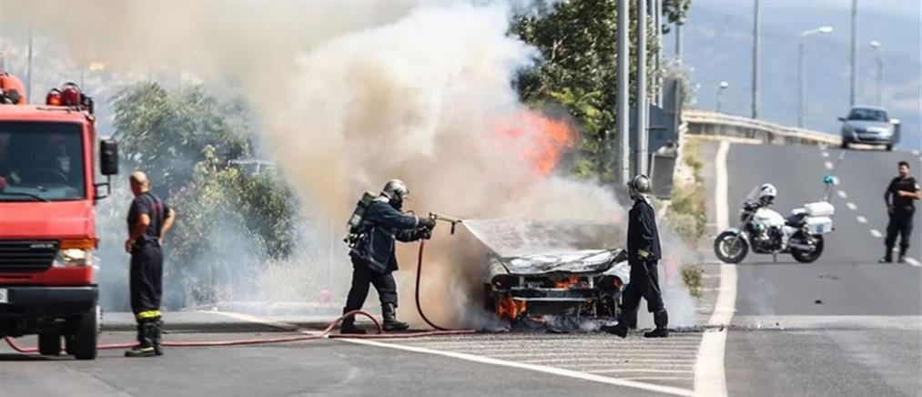 Τραγωδία στην Εγνατία οδό: μετανάστες απανθρακώθηκαν μέσα σε ΙΧ που ανατράπηκε