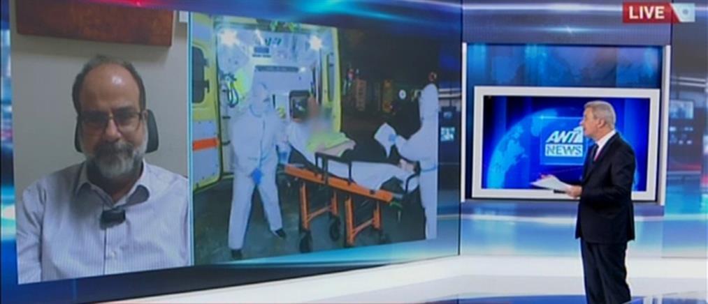 Χατζηχριστοδούλου στον ΑΝΤ1: Υπάρχουν μερικοί θύλακες που μας ανησυχούν ιδιαίτερα (βίντεο)